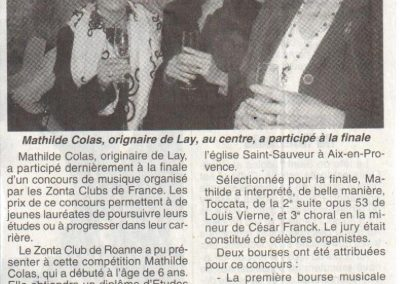 2010 12 04 - Le Pays Roannais Zonta Club Aix