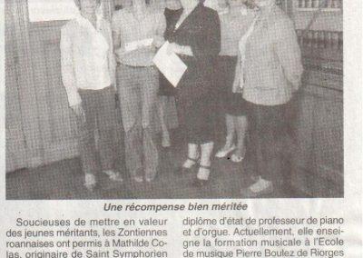 2011 05 25 - Le Pays Roannais Zonta Club Aix