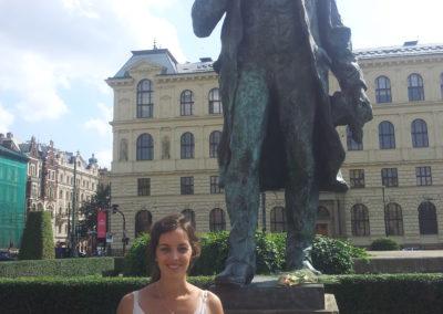 Statue Antonín Dvořák