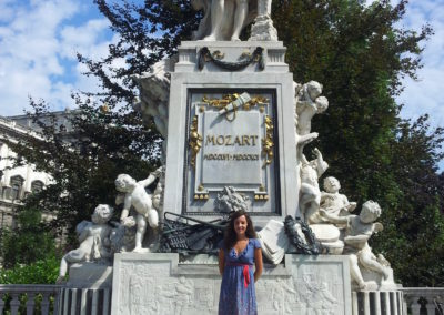 Statue Mozart