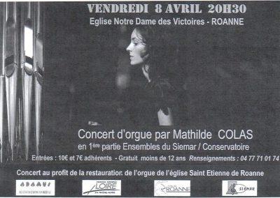 Affiche Concert Adamus NDV