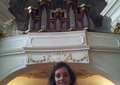 Orgue Šlajch (2000) de l'église St Barthélémy de Prague