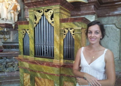 Au Petit orgue Saint Nicolas Church Prague